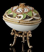 Faberge Inspired Mardi Gras Egg