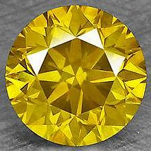 Bianco 5 Carat Brilliant Cut Canary Diamond