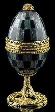 Faberge Inspired Pearlized Egg