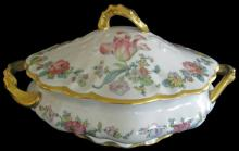 Floral China Covered Tureen