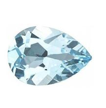 0.81cts Natural Sky Blue Topaz AAA Pear Shape - Loose Stones