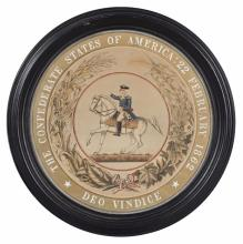 Confederate States Of America Seal, 20th C.
