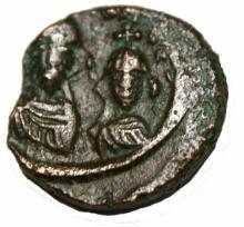 Heraclius-with-heraclius-constantine-610-641-e-12-nummi-18mm-5-31-gm-alex Heraclius-with-heraclius