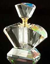 Stunning Reflective Crystal Perfume Bottle