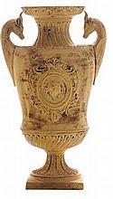 Roman-style Terra Cotta Molded Vase