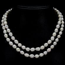 Natural Pearl Bead Necklace
