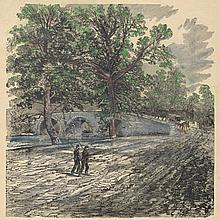 Stone Bridge Over The Antietam Harper's 1862