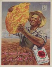 1945 Lucky Strike Tobacco Ad, Gerald Leake