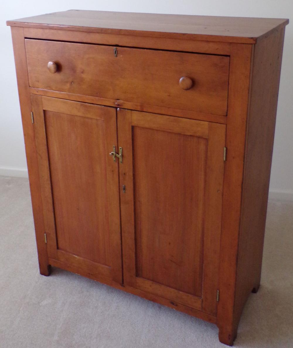19th Century Country Jelly Cupboard in Cherry