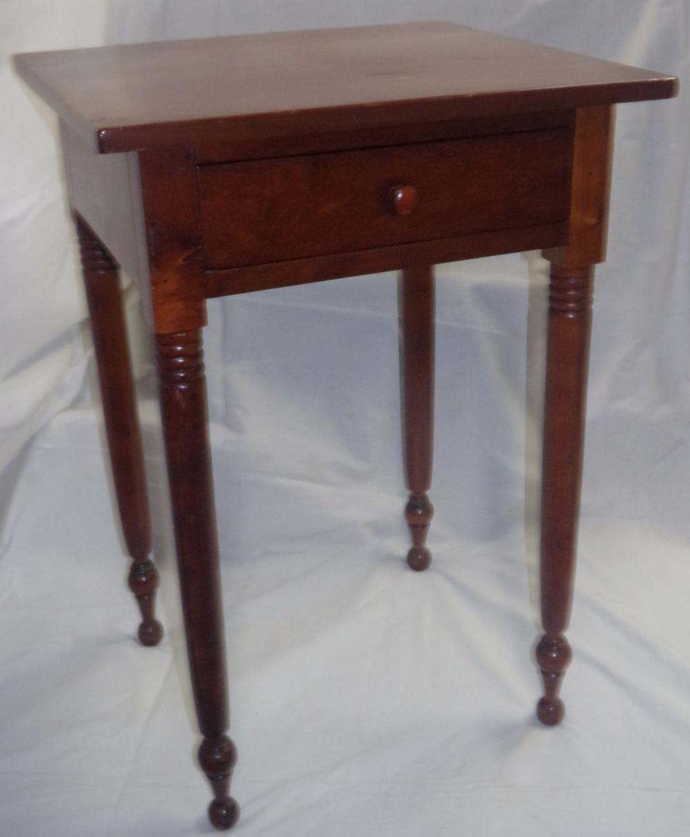 19th century/late Sheraton Cherry Work Table