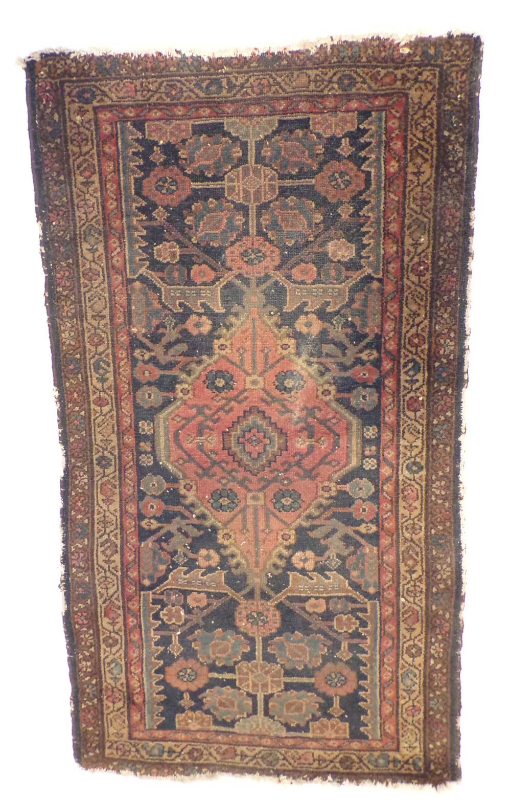 Antique Oriental area rug