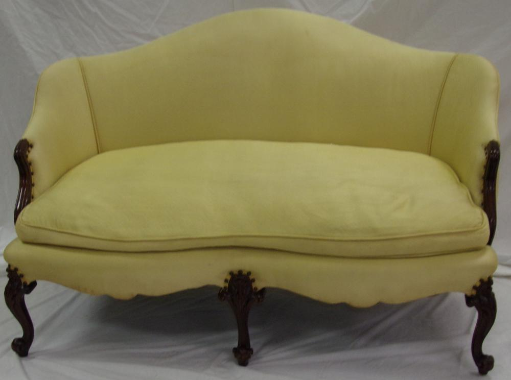 Stylized French Provincial Loveseat