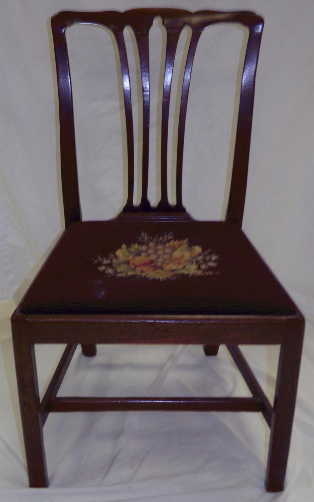 Stylized Queen Anne Arm Chair