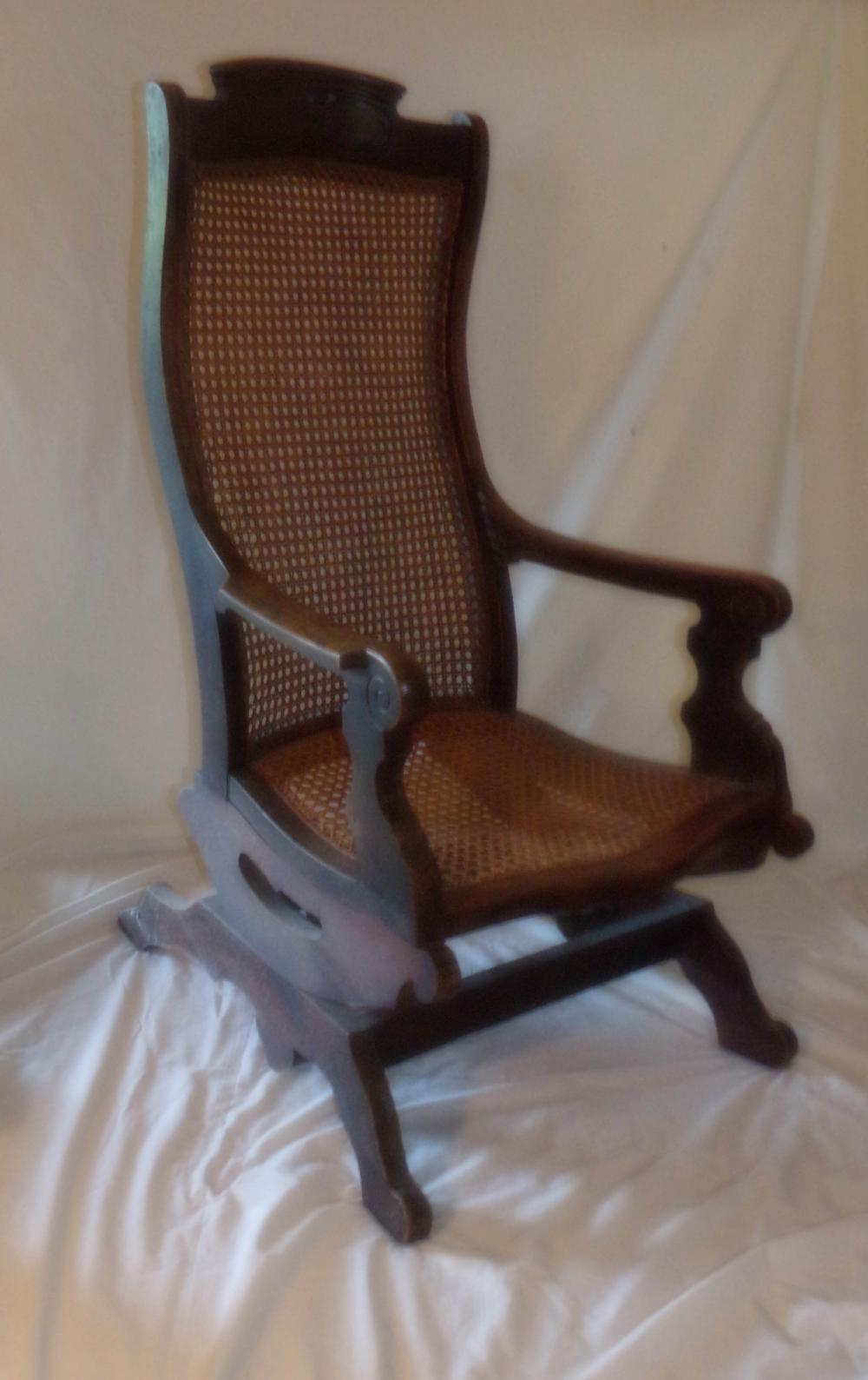 Incredible Victorian Walnut Platform Rocking Chair Gmtry Best Dining Table And Chair Ideas Images Gmtryco