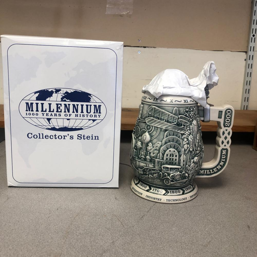 Collectors Stein 1000 Years of History Millennium