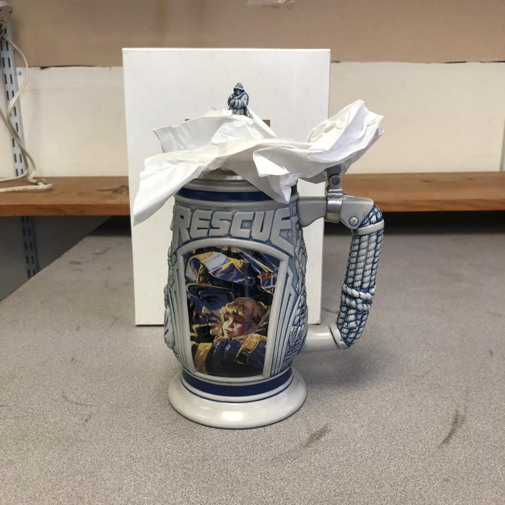 Avon Tribute To Rescue Workers Stein