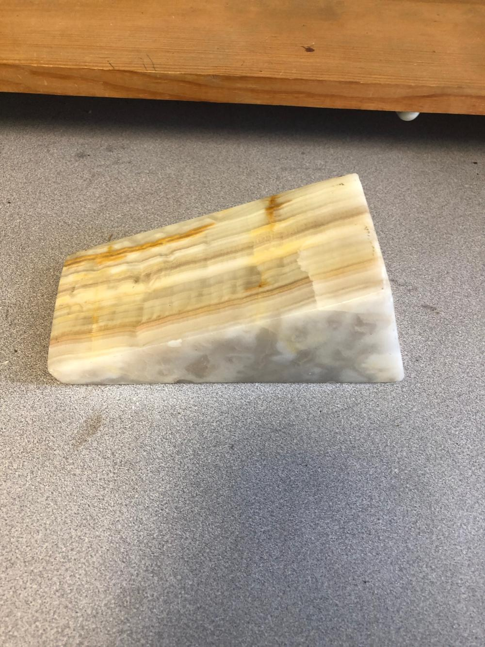 Marble Cheese Block