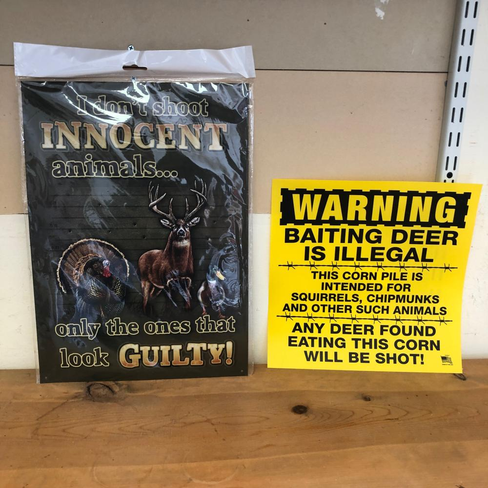 2 Hunting Signs