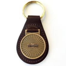 Nova Southern University key ring chain with leather