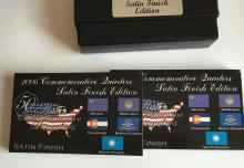 2006 Commemorative Quarters 2 sets (5 coins in each):