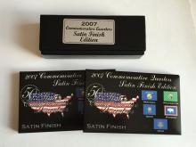 2007 Commemorative Quarters 2 sets (5 coins in each):