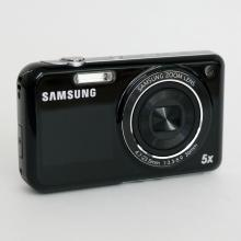 Samsung PL120 14.2 mp HD movie digital black color camera