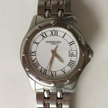 Mens Raymond Weil Tango 5590 Stainless Steel Watch with bracelet