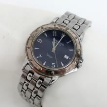 Stainless steel watch Raymond Weil Geneve Tango 5560, black dial, Date with stainless steel bracelet