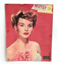 Vintage MIRROR magazine cover August 28, 1949 with photo Jean Peters