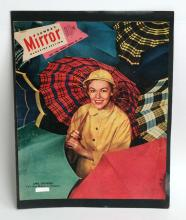 Vintage MIRROR magazine cover March 30, 1952 with photo April Showers