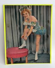 Vintage magazine cover March 23, 1952 with photo Sonia Henie