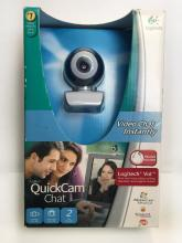 QuickCam Chat Logitech camera, headset included in original packaging
