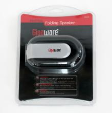GIGAWARE Universal folding speaker 3.5 mm in case, unopened