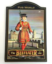 The Beefeater sign from famous British PUB SIGN collection. Made in England one of 60 different signs to make full collection