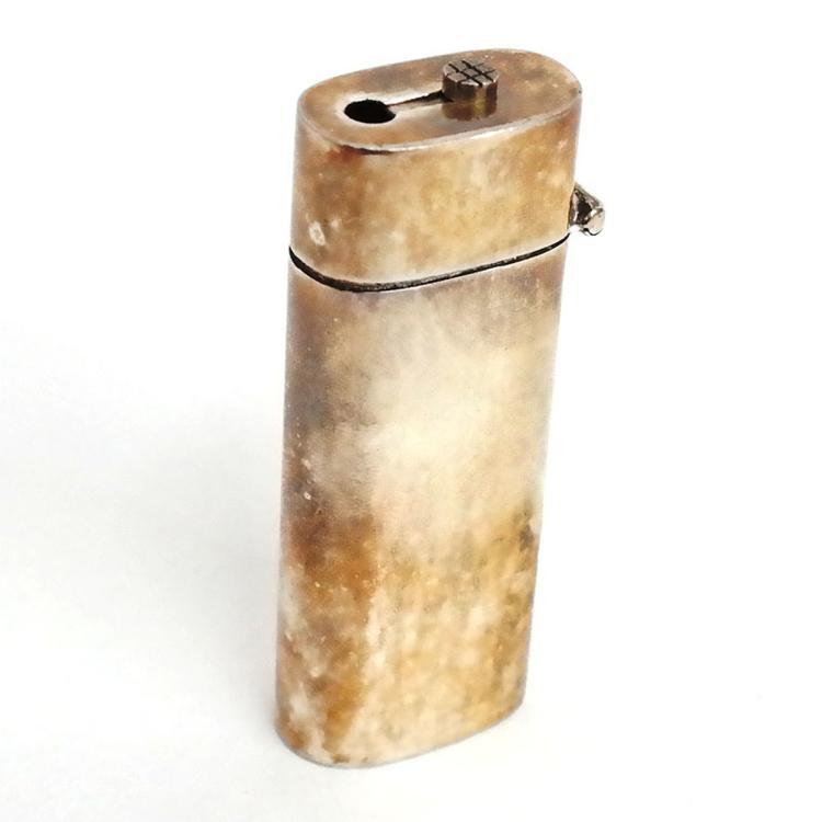 Sterling silver LIGHTER case plain cover