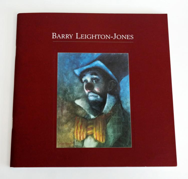 Barry Leighton-Jones book with color pictures of oil paintings and limited editions