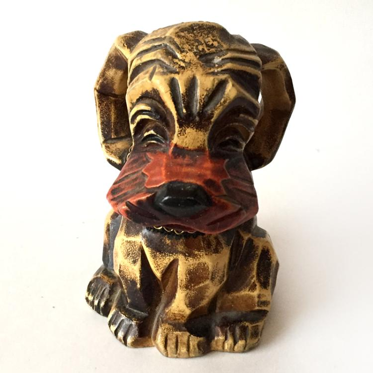 Vintage Napcoware Dog Money Bank, made in Japan
