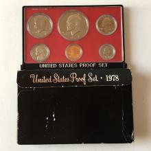 United States Mint Proof set, 1978