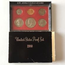 United States Mint Proof set, 1980