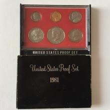 United States Mint Proof set, 1981