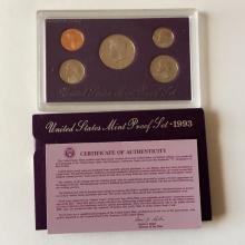 United States Mint Proof set, 1993