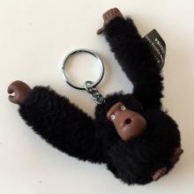 KIPLING MONKEY: Faux fur MONKEY figurine keychain