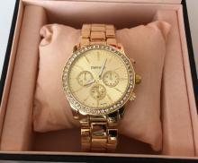 EMPORIO DI MILANO Quartz watch with crystals located on bezel