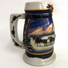 2000 BUDWEISER HOLIDAY STEIN COLLECTION