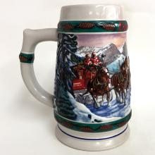 1993 BUDWEISER HOLIDAY STEIN COLLECTION
