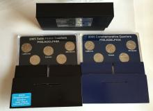 2005 Commemorative Quarters 2 sets (5 coins in each): Philadelphia and