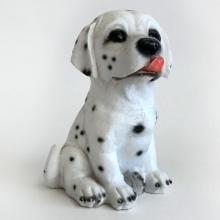 Polystone DALMATIAN PUPPY figurine statuette