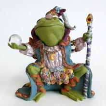 WIZARD OF CAMELOT from Camelot Frogs figurine, statuette