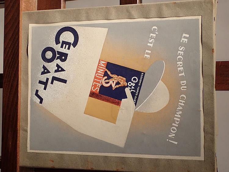 Yves COULAUX (1923-1989) reproduction de l'affiche publicitaire