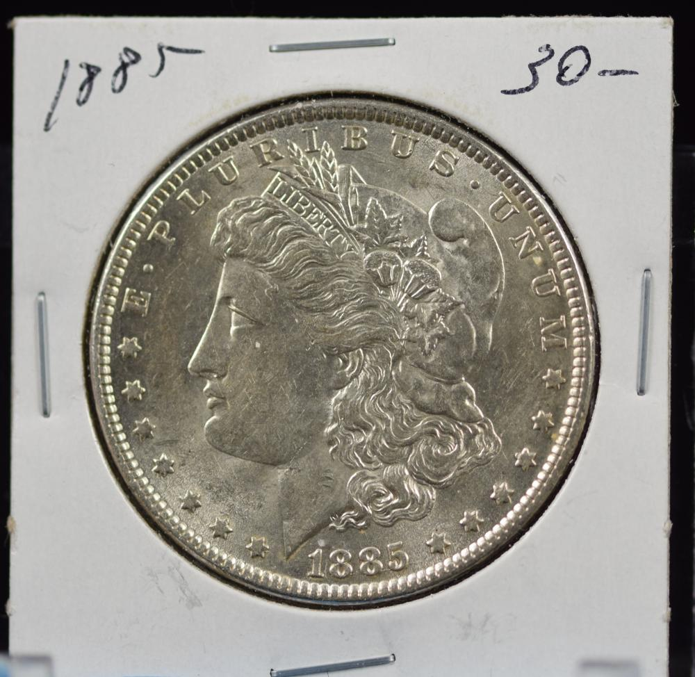 1885 Morgan Dollar MS64 Plus